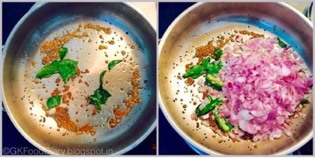 Onion Tomato Gravy Recipe | Side dish For Chapati/Roti 3