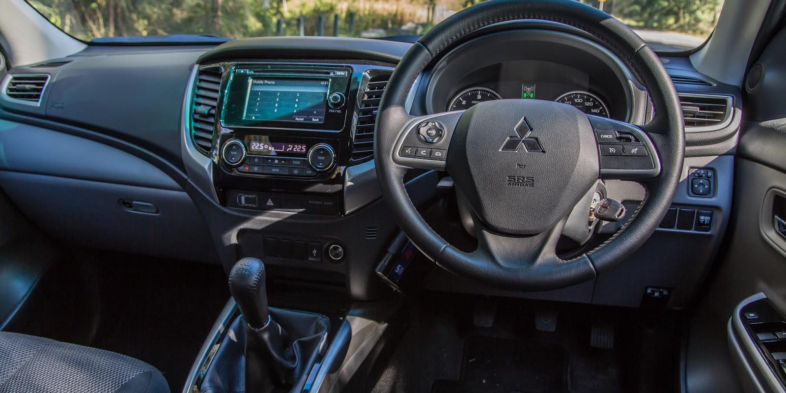 Mitsubishi Triton 2016 là một chiếc xe khá thông minh, với nhiều tính năng ưu việt