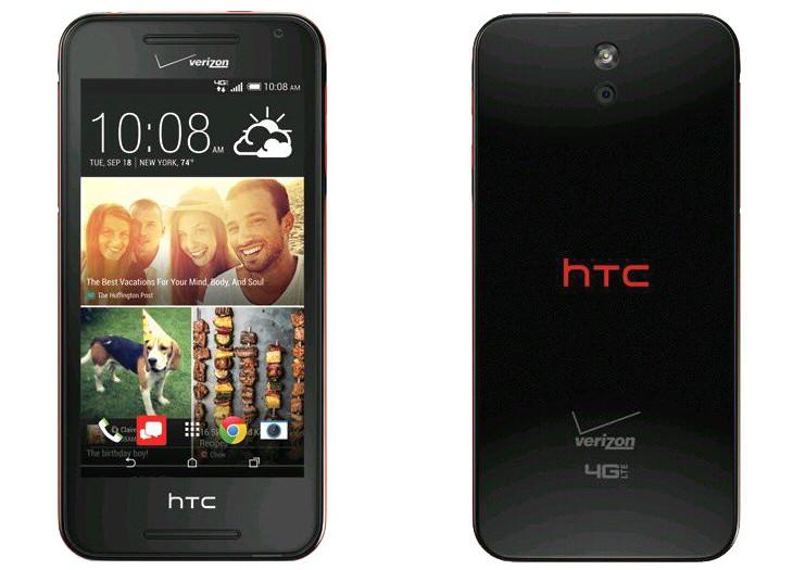 HTC Desire 612 - Spesifikasi Lengkap dan Harga