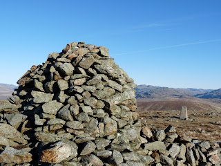 Whitfell Cairn and Trig Point.