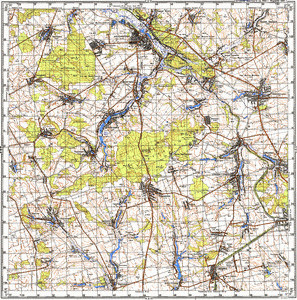 Map 100k--m36-113--(1992)