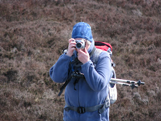 Lorraine taking photos