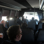 a fun shuttle to the airport...its not tour bus but it will do