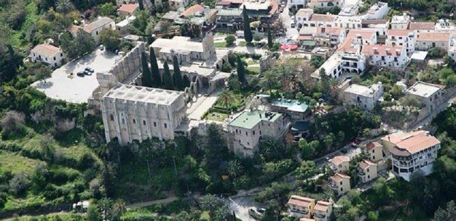 Heritage: Gothic Abbey in Northern Cyprus falling apart