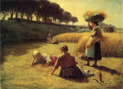 J. Ottis Adams - Gleaners at Rest
