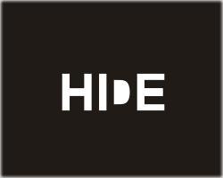 Hide logo