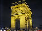 The magnifique Arc de Triomphe!