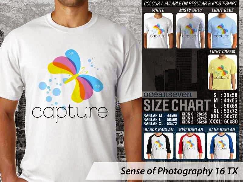 Kaos kamera Sense of Photography 16 Photography distro ocean seven