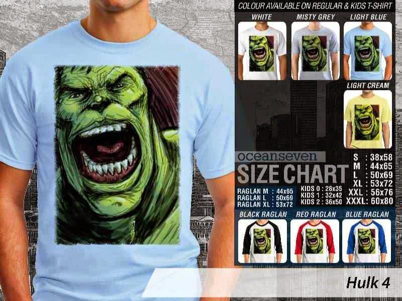 KAOS Hulk 4 Amazing Superhero distro ocean seven