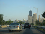 Driving on Lakeshore drive south towards the Hancock Tower
