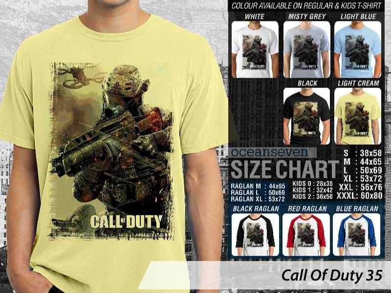 KAOS cod Call Of Duty 35 Game Series distro ocean seven
