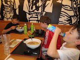 Dinner with the boys at Terakawa Ramen in Philadelphia's Chinatown