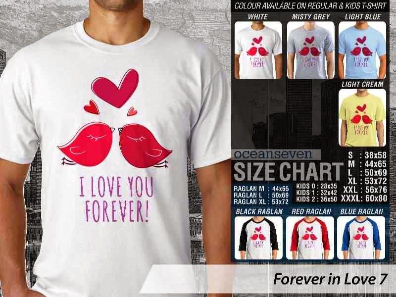 KAOS Couple I love you forever |KAOS Forever in Love 7 distro ocean seven