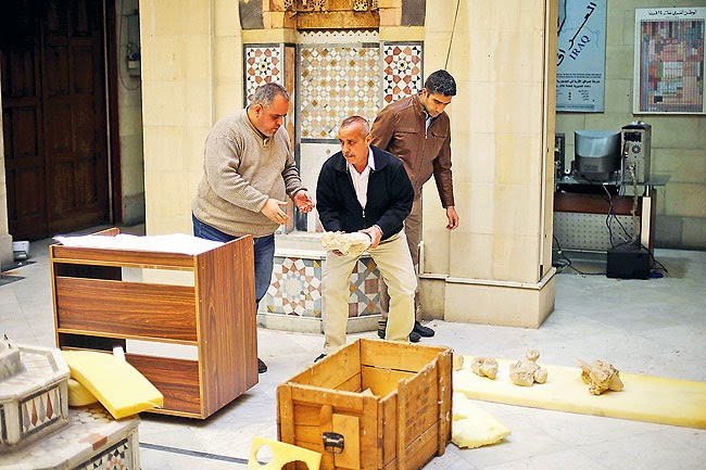 Race to save antiquities in Syria