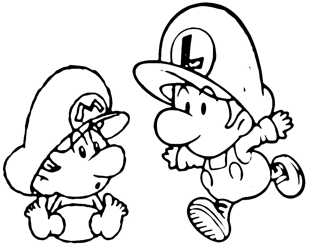 Printable Mario Coloring Pages Mario Kart Coloring Pictures  - mario kart coloring pages