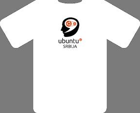 ubuntu srbija majica