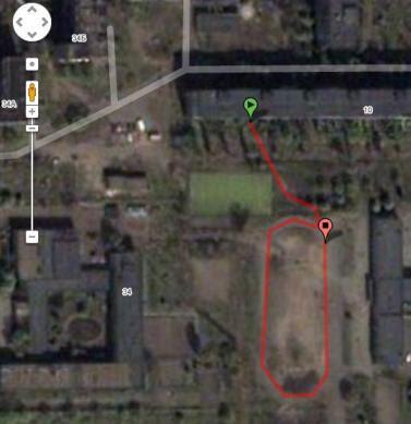расстояния в Google Maps