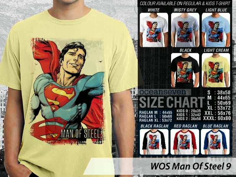 KAOS superman Man Of Steel 54 Movie Series distro ocean seven