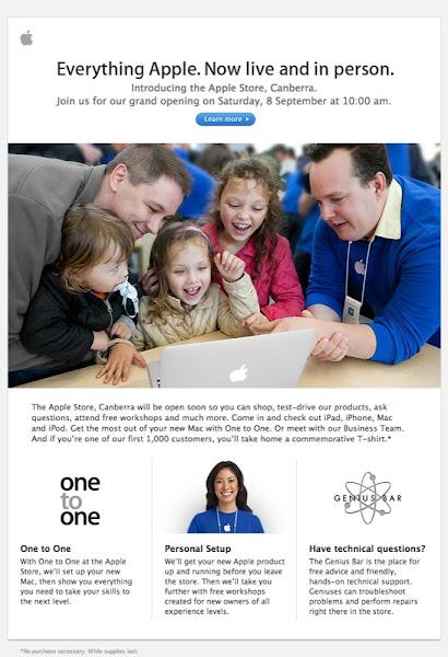 apple promo