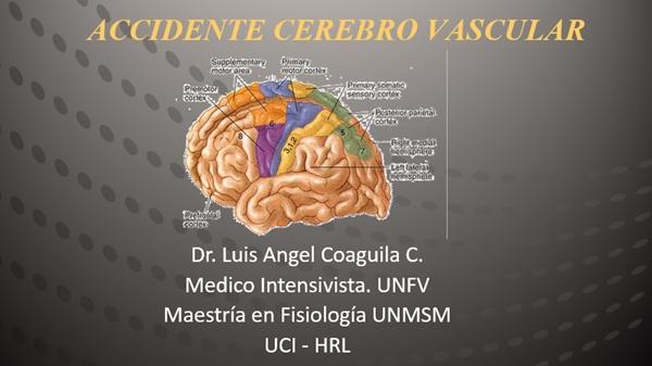 Fisiopatologia - Accidente Cerebrovascular (ACV)