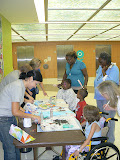 Beth continued her work with Children's Healthcare of Atlanta by organizing a carnival (two carnivals, actually, one at each location) for the patients. It was a huge success.
