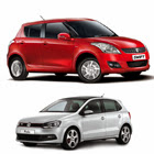 Maruti Swift vs Volkswagen Polo post image
