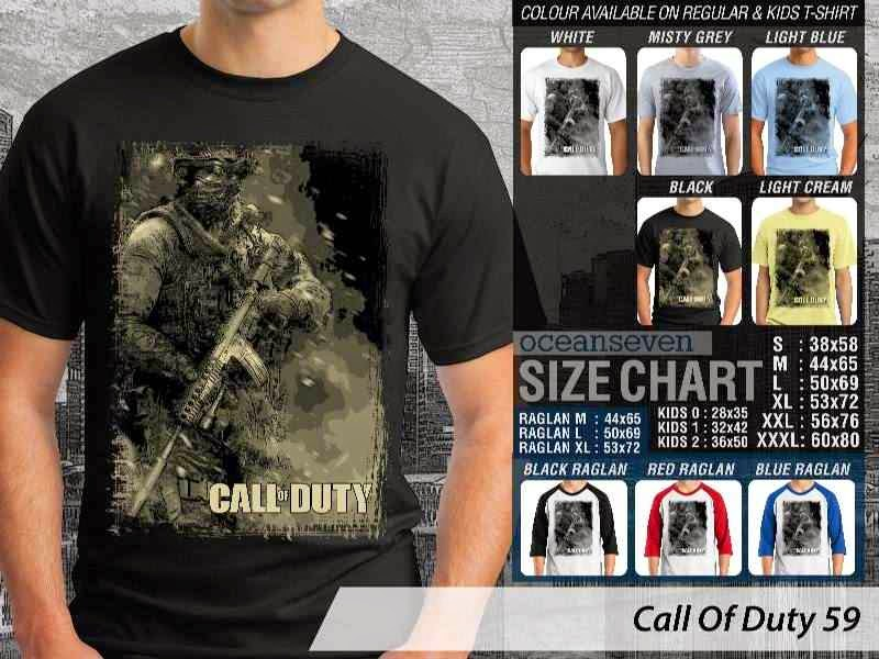 KAOS cod Call Of Duty 59 Game Series distro ocean seven