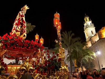Гандия, Пасха, Страстная неделя, Semana santa, pascua, Gandia, España, Испания, Чистый четверг, крестный ход ход, CostablancaVIP