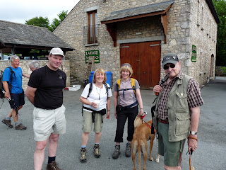 Richard, Ann, Jo and John before we set off for Windermere
