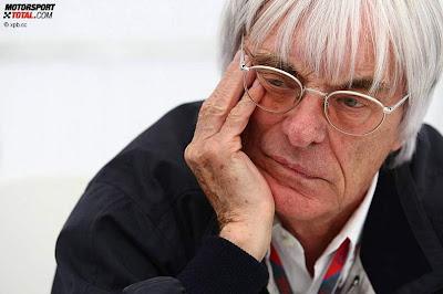 Берни Экклстоун фэйспалмит на Гран-при Германии 2011