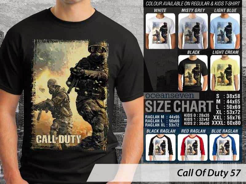 KAOS cod Call Of Duty 57 Game Series distro ocean seven