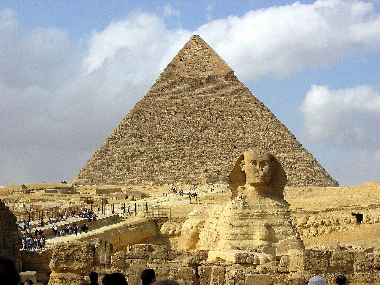 Khafre Pyramid closed for renovation