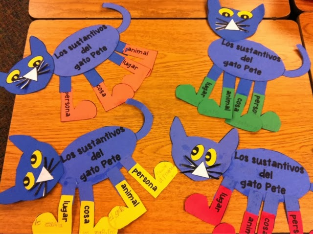 B is for Bilingual: Pete the Cat