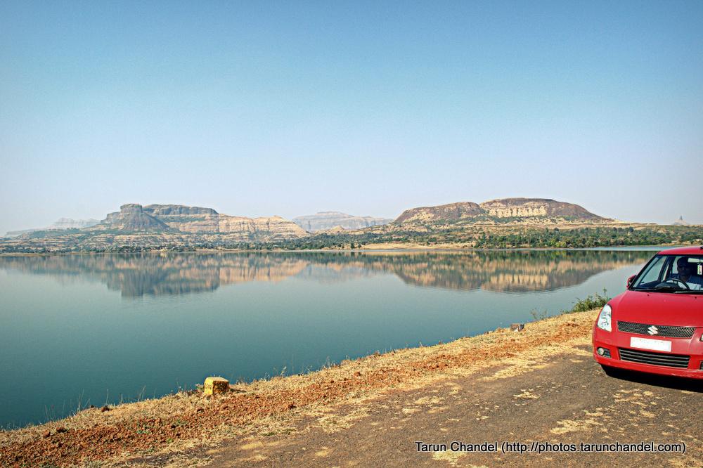 Hills Lake Car, Tarun Chandel Photoblog