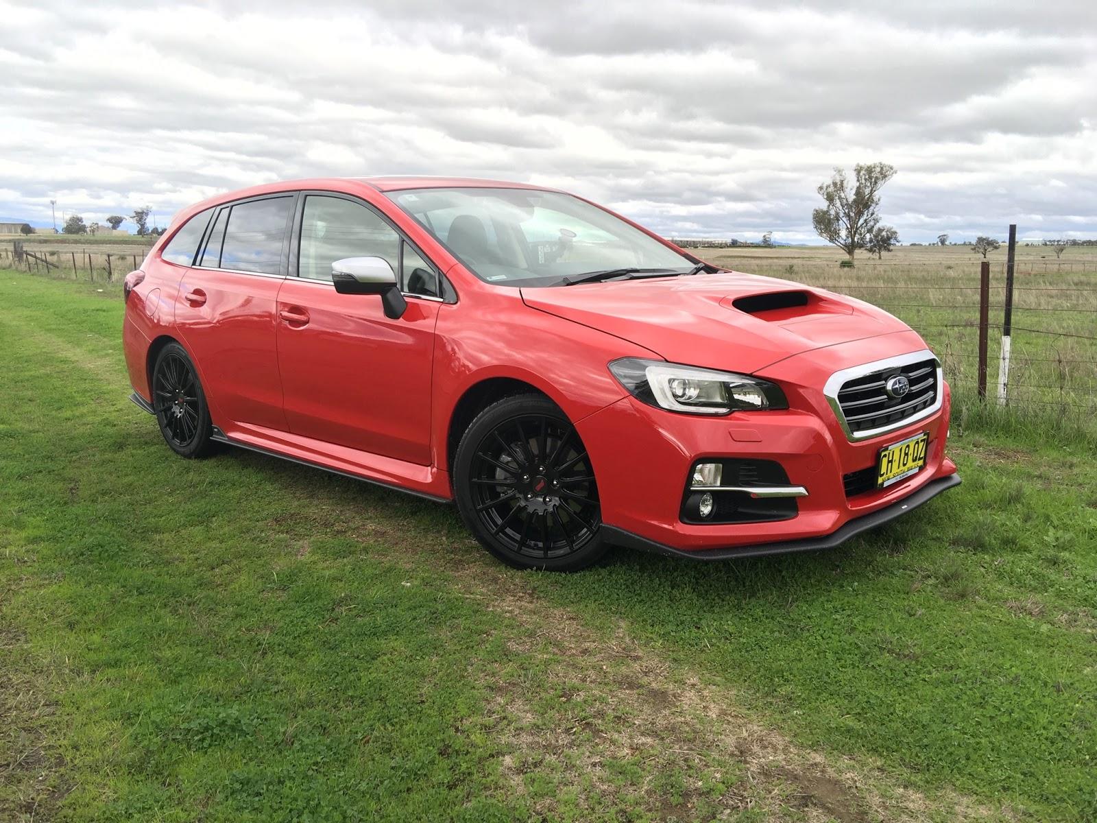 Subaru Levorg 2017 hứa hẹn sẽ làm sôi động phân khúc wagon nhàm chán bấy lâu nay