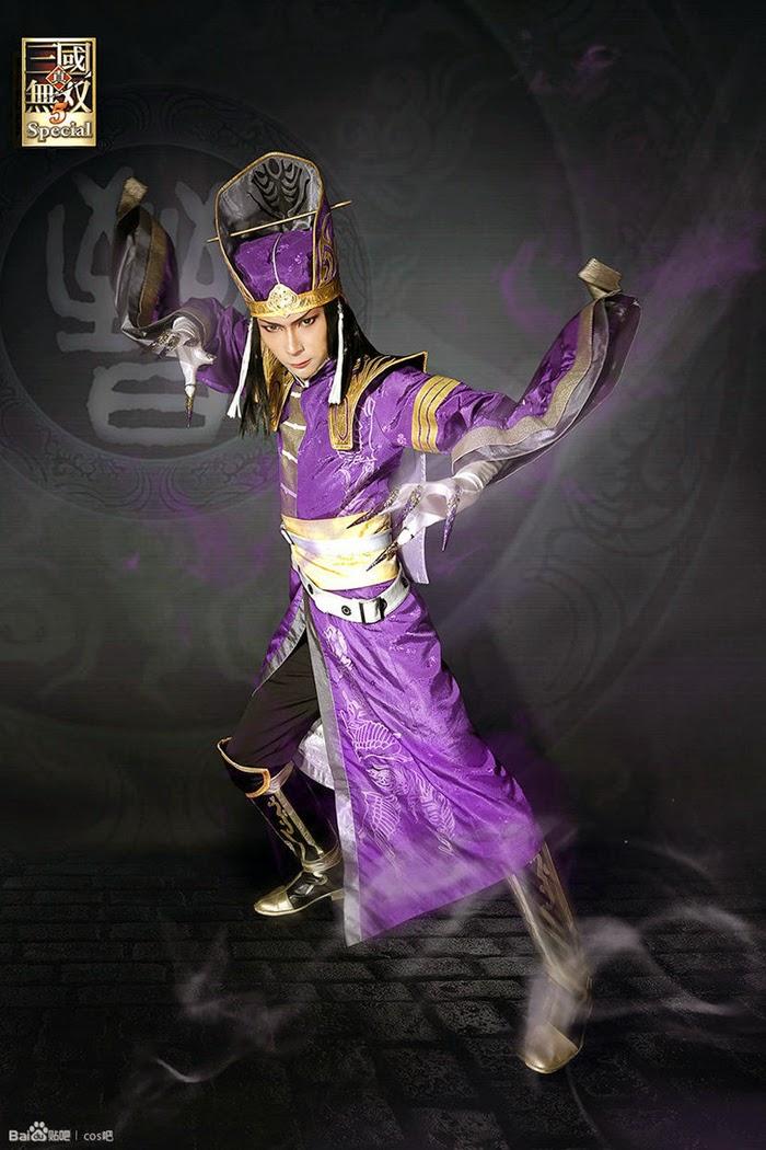 Cosplay Tư Mã Ý cực chất trong Dynasty Warriorrs 5