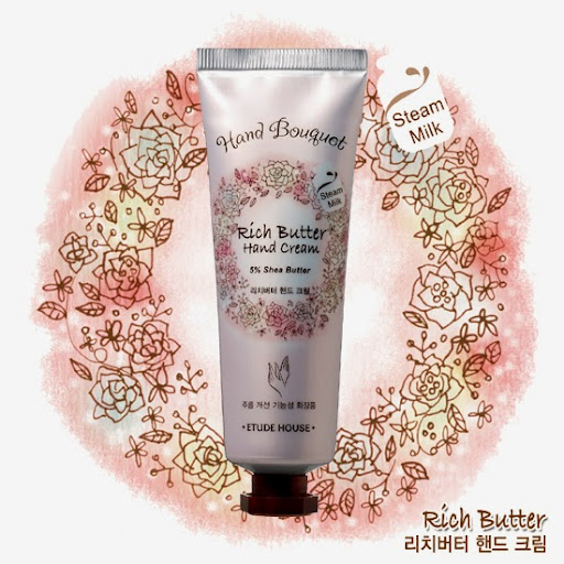 Pengharum Tubuh Etude House Hand Bouquet Rich Butter Hand Cream : MEH-20