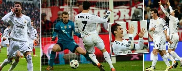 Bayern Munich 0 4 Real Madrid 2nd Leg Highlights 29