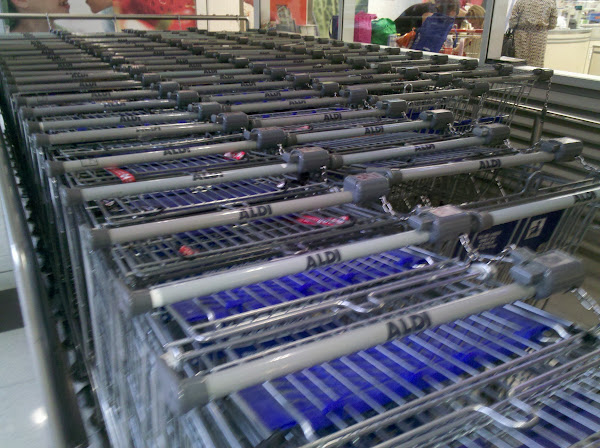 aldi trolleys