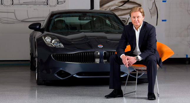 Fisker founder Henrik Fisker calls that ended it