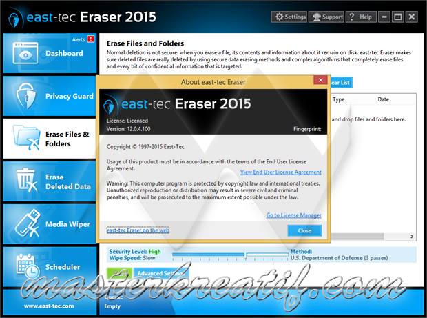 east-tec Eraser 2015