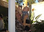 Lorraine and her grandson