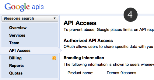 Login with Google Plus Oauth