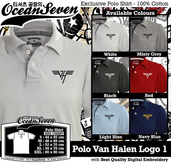 POLO Van Halen Logo distro ocean seven