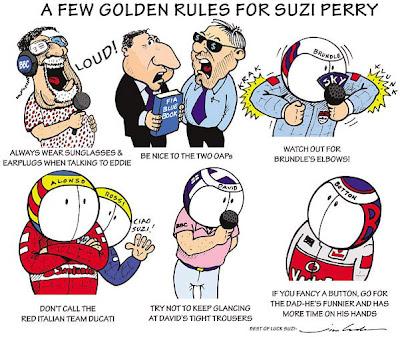 золотые правила для Сьюзи Перри - комикс Jim Bamber