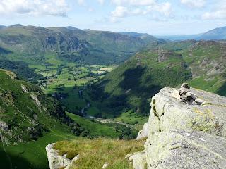 Eagle Crag and Borrowdale.