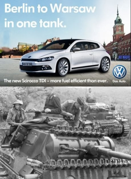 Not the best idea out of VW's marketing department...