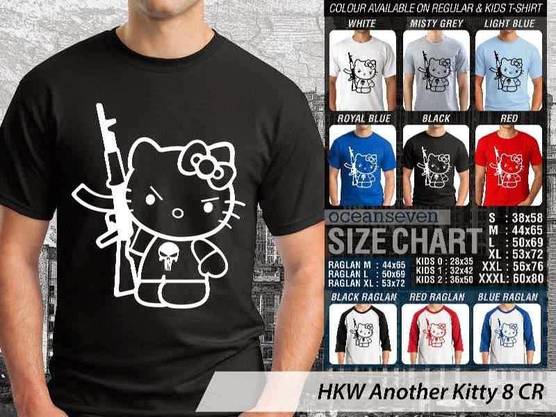 Kaos kartun lucu Another Hello Kitty 8 distro ocean seven