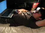 this is usually how I spend a few hours a day in my bunk
