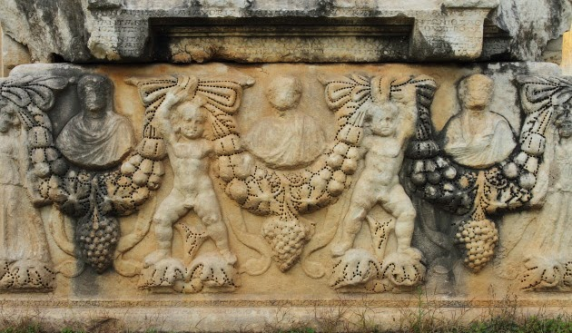 Another beautiful sacrophagus from Aphrodisias